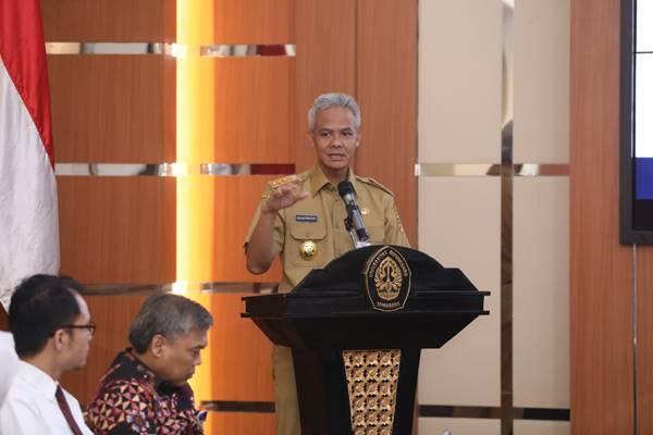 Gubernur Jawa Tengah Ganjar Pranowo. JIBI/BISNIS - Alif Nazzala Rizqi