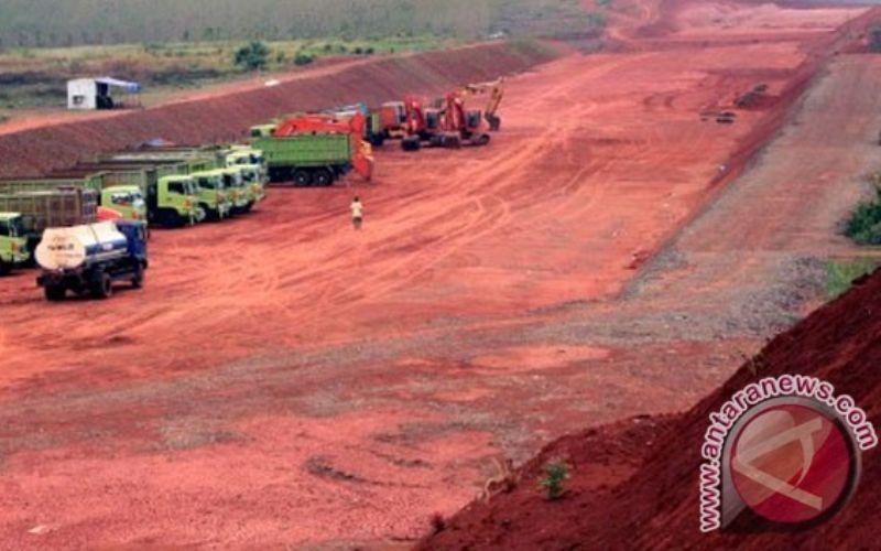 Iustrasi pembebasan lahan jalan tol - Antara.