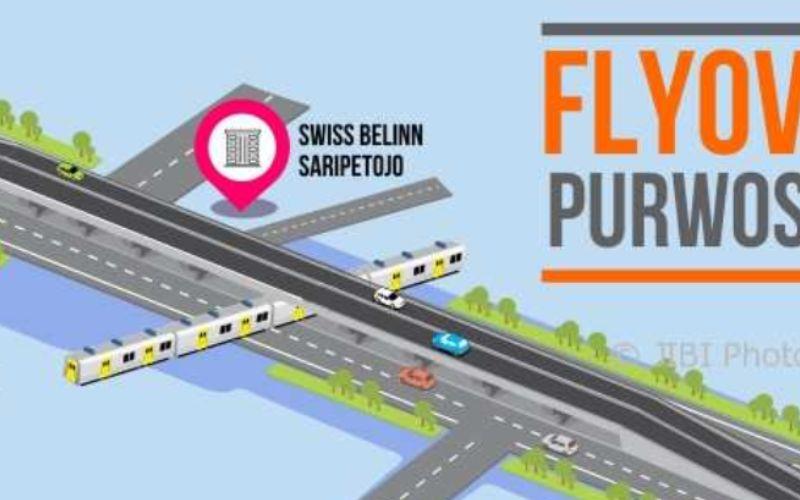 Desain proyek flyover Purwosari di Kota Solo - Solopos.
