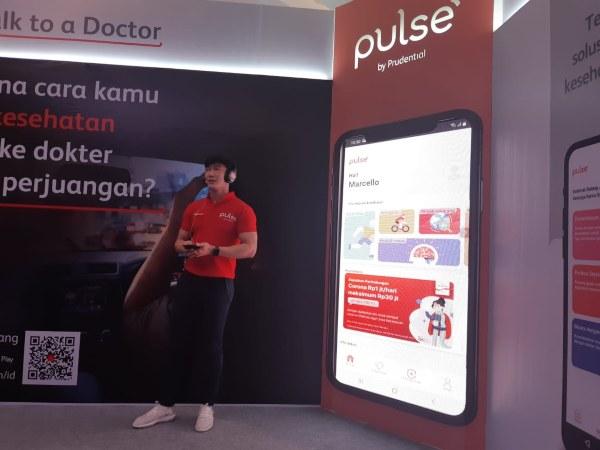 Prudential memperkenalkan Pulse by Prudential, aplikasi baru khusus untuk cek kesehatan, di The Westin, Selasa (25/2 - 2020).