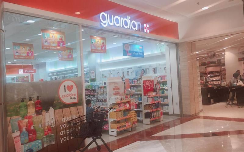 Apotek Guardian di Mal Pondok Indah, Jakarta Selatan, Selasa (17/3/2020). JIBI - Bisnis/ Devi Sri Mulyani