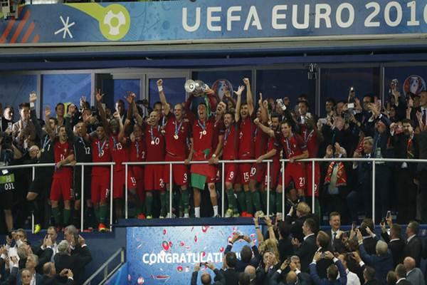 Portugal juara Piala Eropa 2016 menundukkan Prancis di final 1-0. - REUTERS