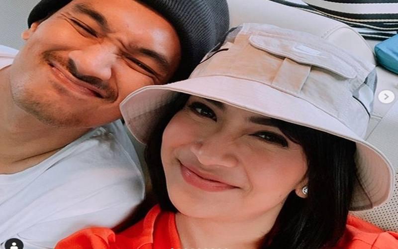 Vanessa Angel dan suaminya Bibi - Intagram @vanessaangel