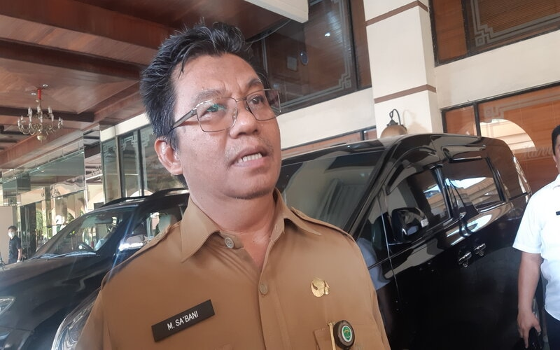 Pelaksana Tugas Sekretaris Provinsi Kalimantan Timur (Plt Sekprov Kaltim) Muhammad Sa'bani.