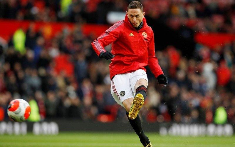 Gelandang Manchester United Nemanja Matic - Antara.