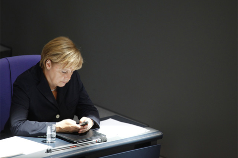 Kanselir Jerman Angela Merkel - Bloomberg