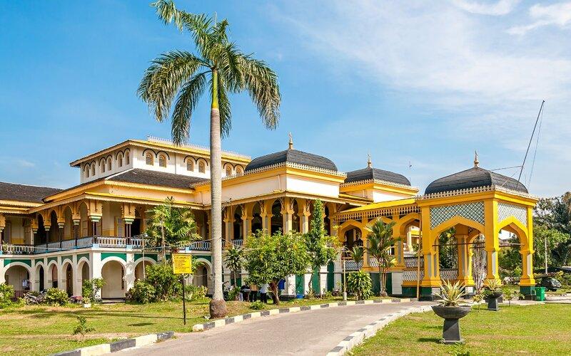 Istana Maimun. - Pegipegi
