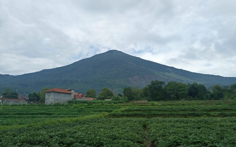 Gunung Ciremai - Bisnis/Hakim Baihaqi