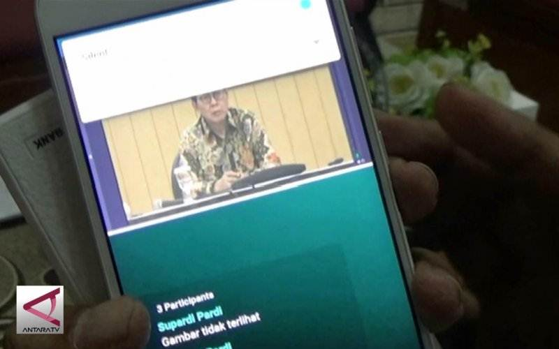 Ilustrasi-Classmiles, aplikasi pembelajaran jauh yang dapat diakses seluruh pelosok wilayah Indonesia yang dibuat Hermawan Eko Nugroho. - AntaraTV