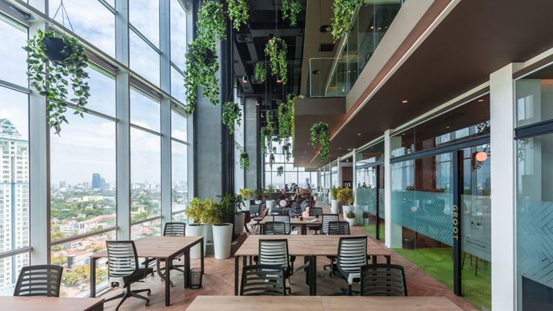 Ruang kerja bersama (coworking space) Greenhouse di Kuningan, Jakarta. - dok. Greenhouse