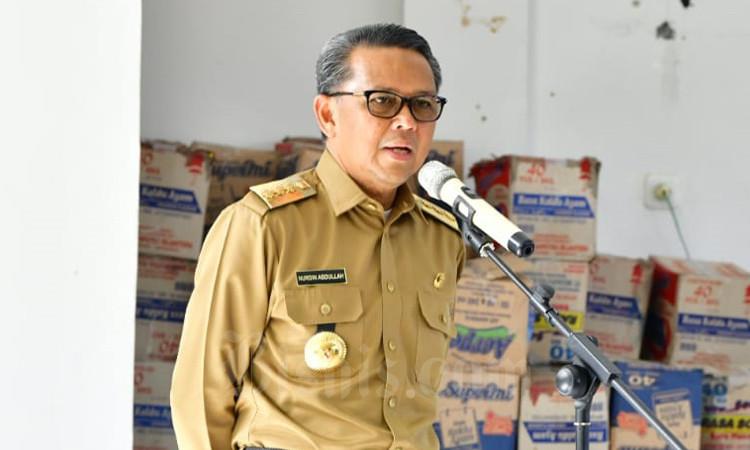 Gubernur Sulsel Nurdin  Abdullah. - Bisnis/Andini Ristyaningrum