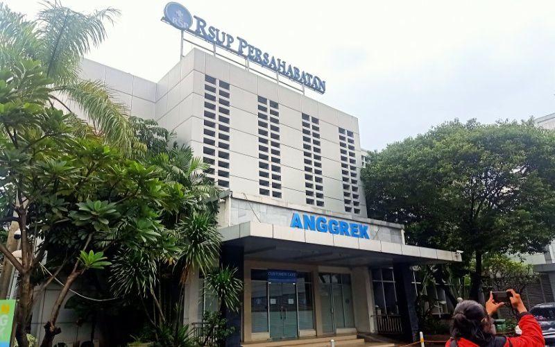 Gedung Rumah Sakit Umum Pusat (RSUP) Persahabatan, Pulogadung, Jakarta Timur. (ANTARA - Andi Firdaus)