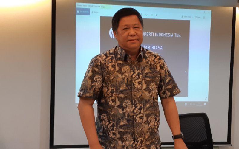 Direktur Maha Properti Suwandy mengatakan pembelian 2 entitas usaha milik PT Hanson International Tbk. dan PT Rimo International Lestari Tbk. hanya wacana pada Senin (13/1/2020). - Bisnis - Pandu Gumilar)