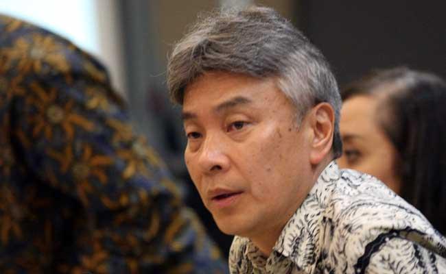 Direktur Utama Bank Danamon Yasushi Itagaki. Bisnis - Dedi Gunawan