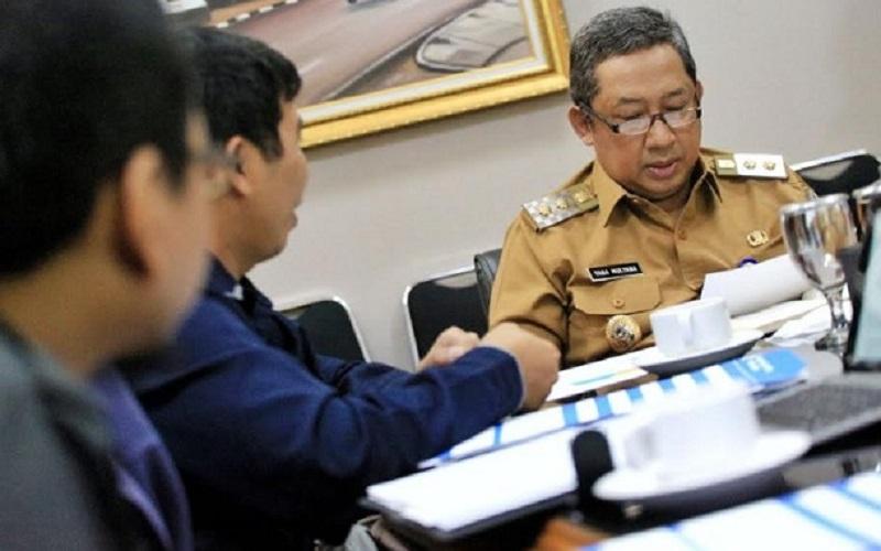 Wakil Wali Kota Bandung Yana Mulyana - Bisnis/Dea Andriyawan
