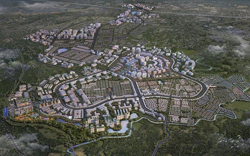 Masterplan Modernland Cilejit - Istimewa