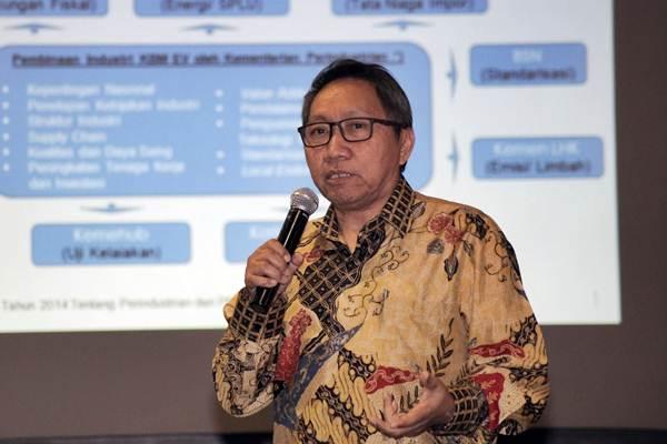 Dirjen Industri Logam, Mesin, Alat Transportasi, dan Elektronika Kementerian Perindustrian Harjanto. - JIBI/Felix Jody Kinarwan