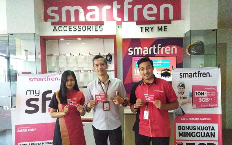 Smartfren merilis kartu perdana 10N.