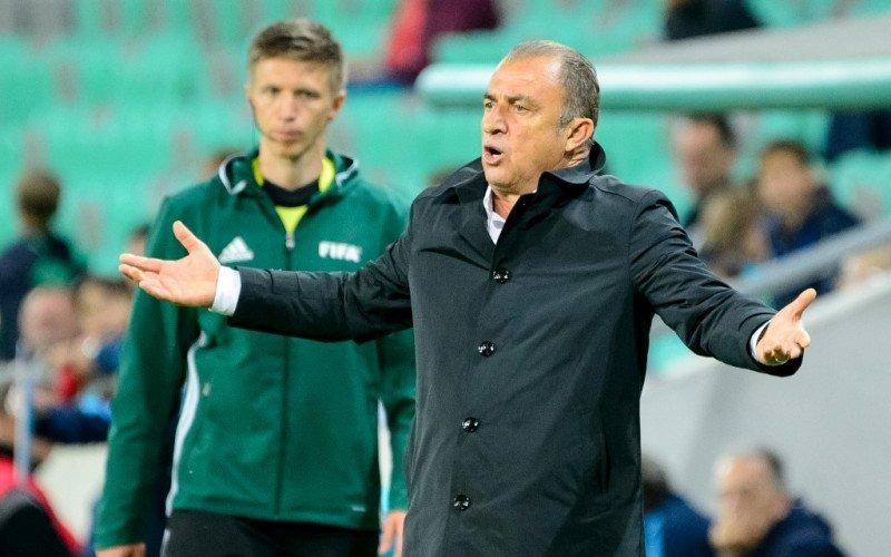 Fetih Terim, pelatih klub Turki Galatasaray - Antara.