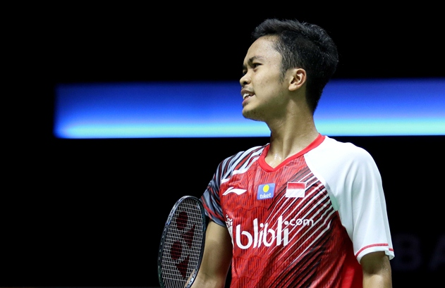 Tunggal putra Indonesia, Anthony Ginting - Badminton Indonesia