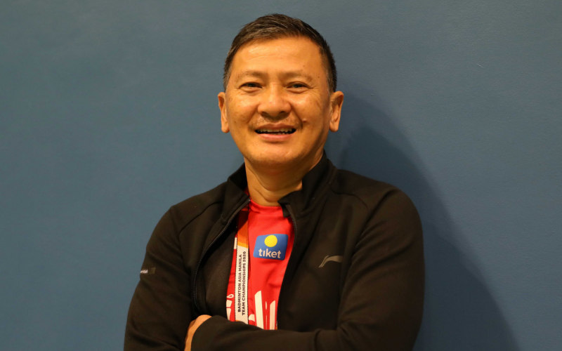 Kepala Pelatih Tunggal Putra PBSI, Hendry Saputra - Badminton Indonesia
