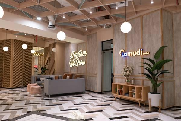 Kantor baru Lamudi.co.id di Gowork, Pacifik Place, Jakarta.