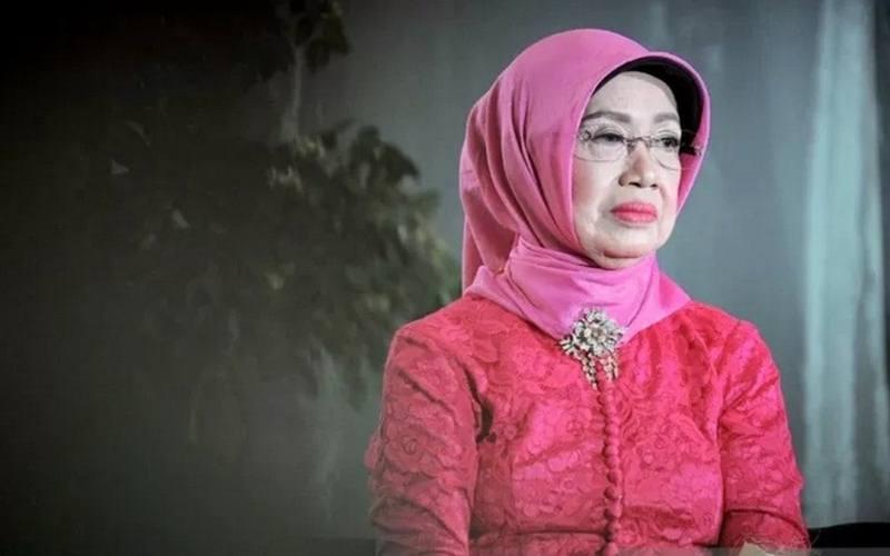 Ibunda Presiden Joko Widodo, Sujiatmi Notomiharjo.  - Antara