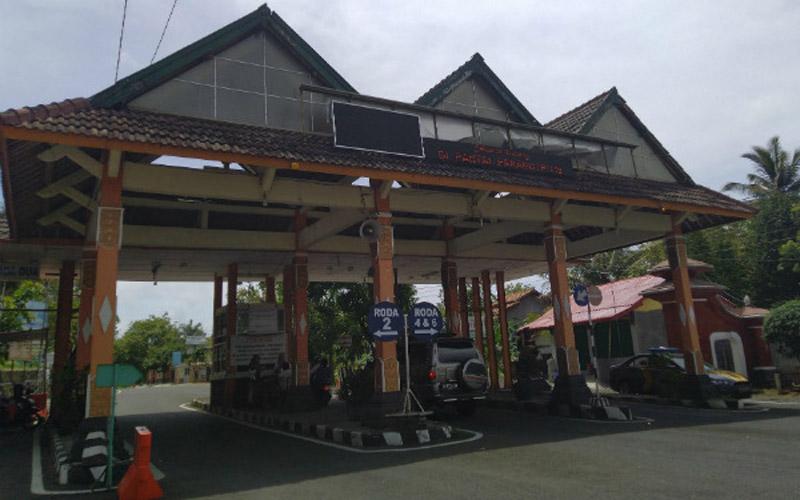 TPR Induk Pantai Parangtritis, Kecamatan Kretek, Bantul. - Harian Jogja/Arief Junianto