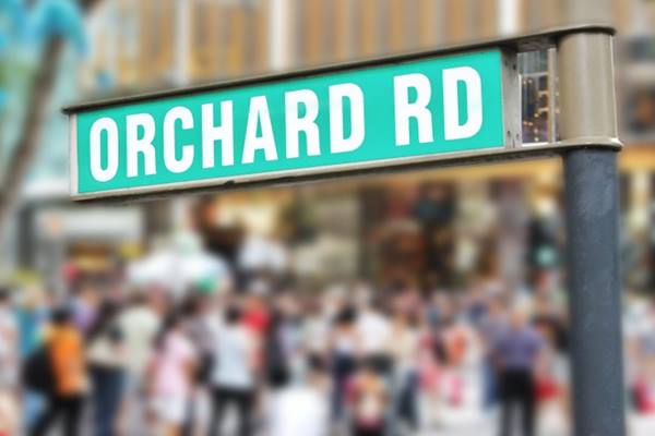Orchard Road di Singapura