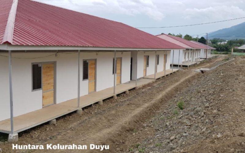 Proyek Hunian Tetap (Huntap) di Palu, Sulawesi Tengah yang dibangun oleh Kementerian Pekerjaan Umum dan Perumahan Rakyat - Dokumen Kementerian PUPR.