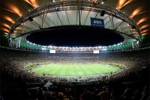 Stadion Maracana di Rio de Janeiro, Brasil. -  Reuters