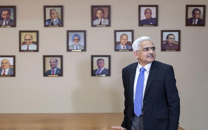 Gubernur Reserve Bank of India (RBI) Shaktikanta Das  -  Bloomberg/Kanishka Sonthali