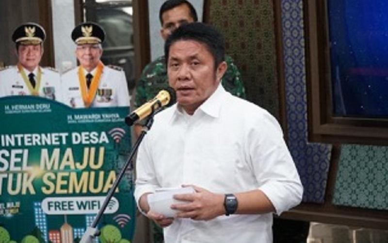Gubernur Sumsel Herman Deru - Istimewa