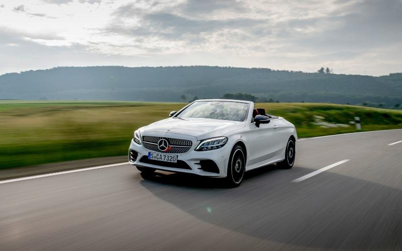 Mercedes-Benz meluncurkan Sedan C-Class Cabriolet di Jakarta, Kamis (12/3/2020) - Dok./Mercedes/Benz
