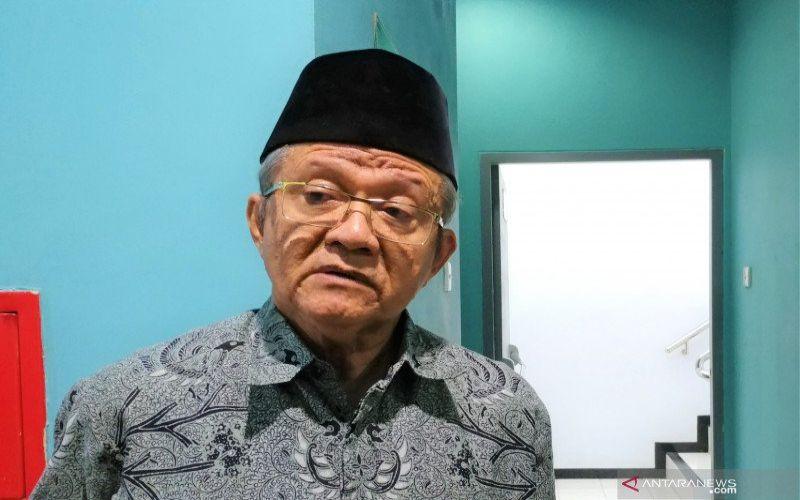 Sekretaris Jenderal Majelis Ulama Indonesia Anwar Abbas di Gedung MUI, Jakarta, Selasa (5/11/2019). (ANTARA - Anom Prihantoro)