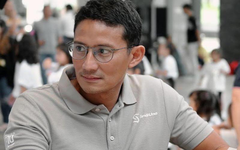Sandiaga Uno disebut mendekati elektabilitas Ganjar Pramono dan Ridwan Kamil. Namun, secara keseluruhan, Sandiaga Uno justru mengungguli Ganjar dan Ridwan Kamil bahkan Anies Baswedan dan Tri Rismaharini. - istimewa