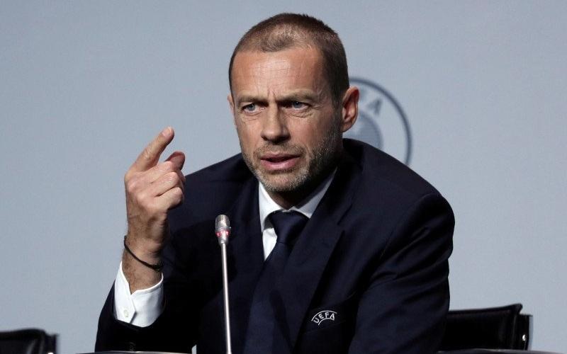 Presiden UEFA Aleksander Ceferin - Antara.
