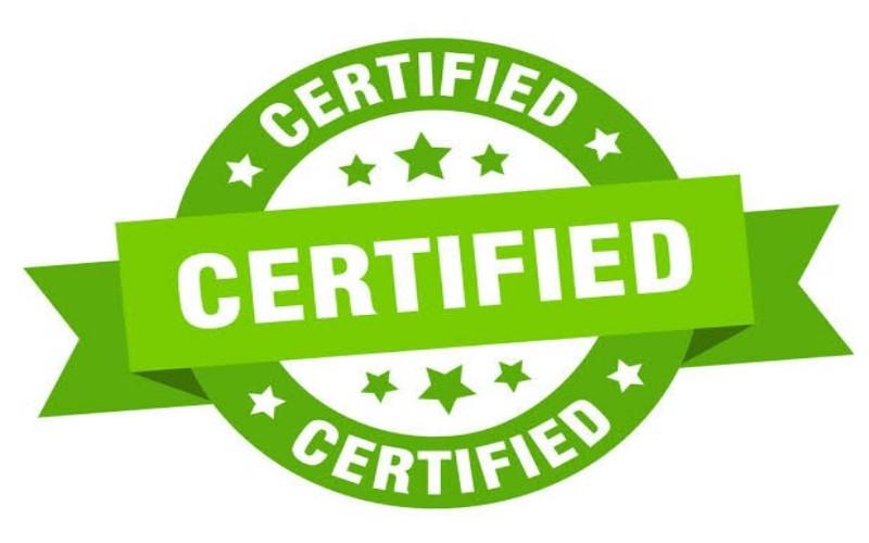 Ilustrasi sertifikat