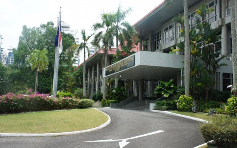 Gedung KBRI di Singapura - Antara/Yuniati Jannatun Naim