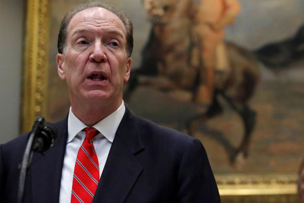 Presiden Bank Dunia David Malpass - Reuters/Jim Young