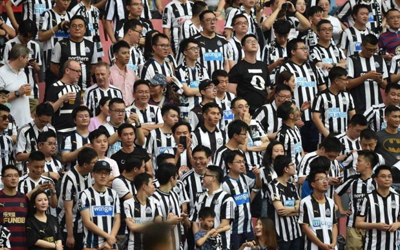 Suporter Newcastle United - Antara/AFP