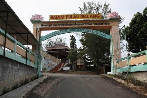 Pulau Galang - Istimewa