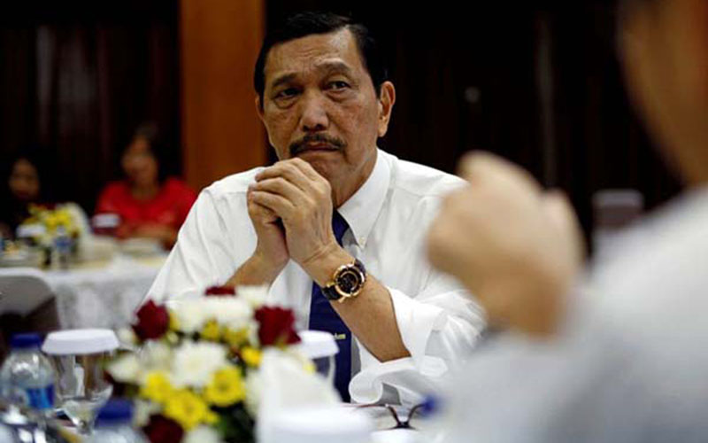 Menteri Koordinator Bidang Maritim dan Investasi Luhut Binsar Pandjaitan. - Reuters