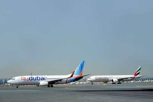 Emirates, maskapai penerbangan jarak jauh terbesar di dunia, dikabarkan akan menerima dana talangan negara dalam bentuk ekuitas baru dari pemiliknya, pemerintah Dubai. - Istimewa