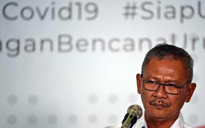 Juru Bicara Pemerintah untuk Penanganan COVID-19 Achmad Yurianto. - Antara/Aditya Pradana Putra