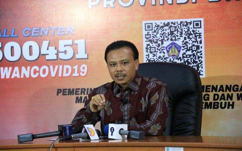 Ketua Satgas Penanggulangan Covid/19 Bali Dewa Made Indra