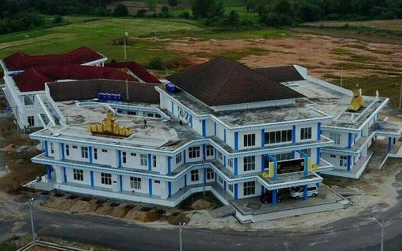 RSUD Bandar Negara Husada, salah satu fasilitas yang telah dibangun di Kota Baru Bandar Negara di Kabupaten Lampung Selatan, Provinsi Lampung. - Dinkes Lampung