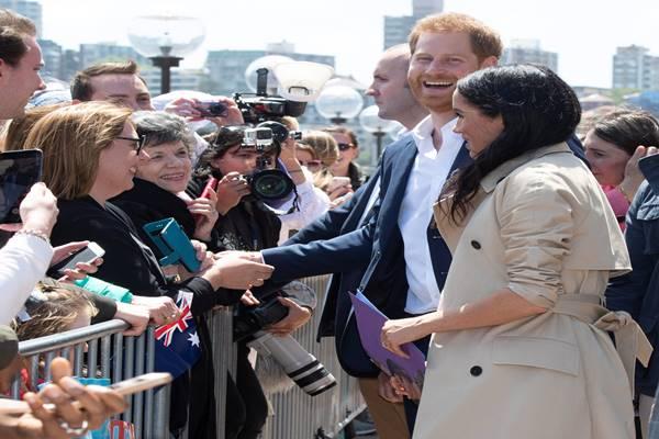 Pangeran Harry dan Meghan Markle mengunjungi Sydney Australia - Reuters