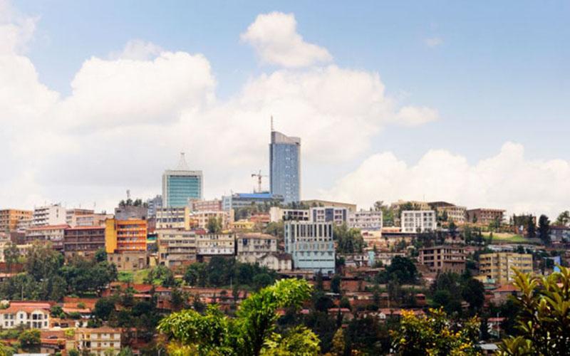 Kigali. ibu kota Rwanda. - Bloomberg