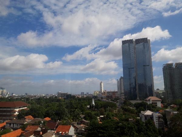 Pembatasan Aktivitas Masyarakat Begini Dampak Ke Udara Jakarta